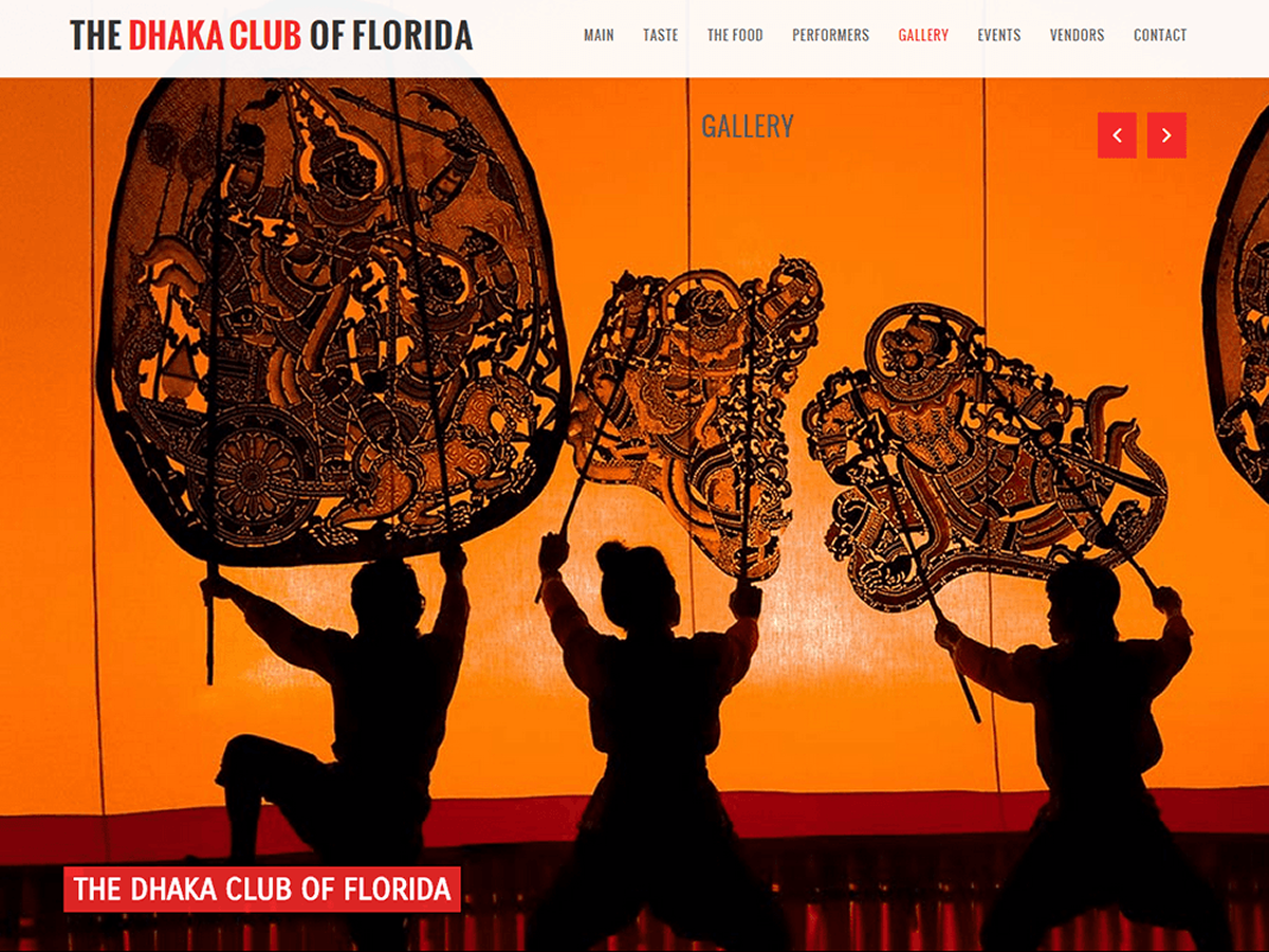 The Dhaka Club of Florida Website